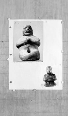 Figuras antropomorfas sedentes del estado de Guerrero, reprografía