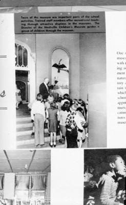 Grupo de niños en el museo Infantil de Jacksonville, reprografía