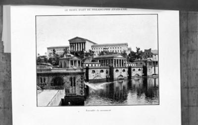 Conjunto arquitectónico del museo de Filadelfia, reprografía