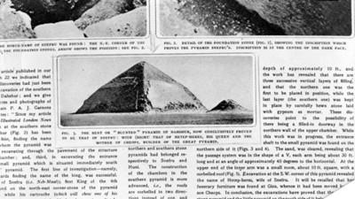 Pirámide Egipcia de Snefru, reprografía
