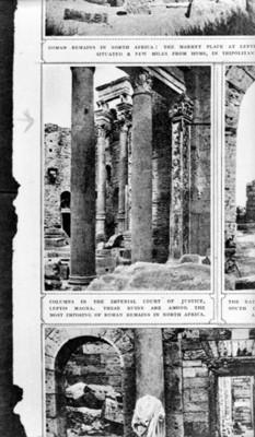 Columnas de la Corte Imperial de Justicia al Norte de África, reprografía