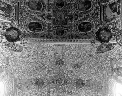 Cúpula del Convento de Santo Domingo, interior, detalle