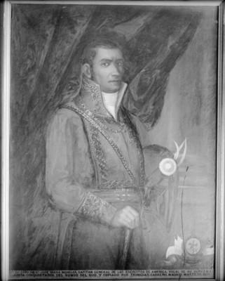 José María Morelos y Pavón, pintura al óleo
