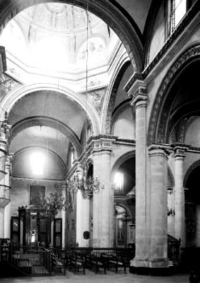 Catedral de Oaxaca, interior, vista parcial