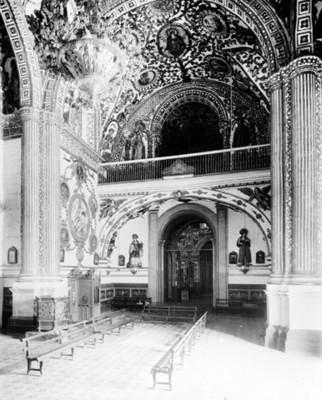 Capilla del Rosario, interior iglesia de Santo Domingo