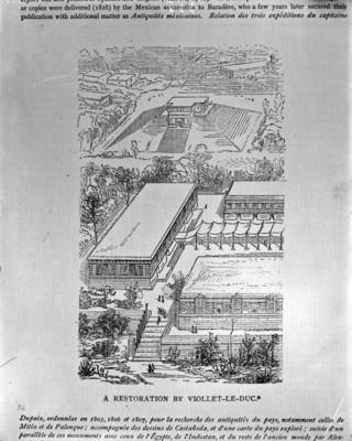 Chichén Itzá, dibujo