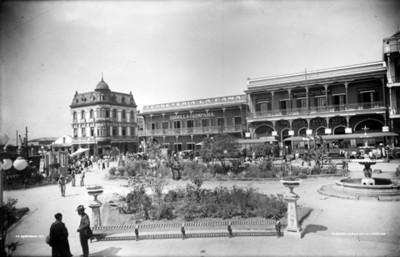 Plaza de La Libertad, vista parcial