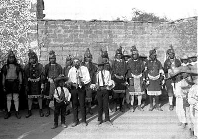 Dosantes Pascolas, retrato de grupo