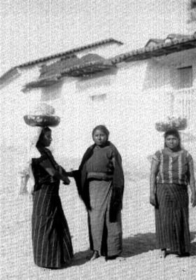 Mujeres indígenas de Oaxaca, retrato