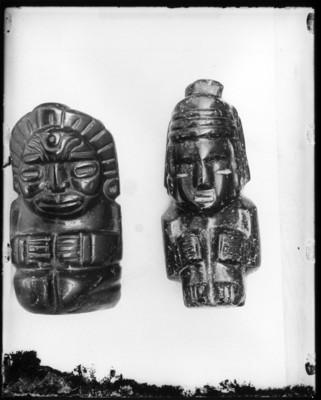 Figuras antropomorfas, tipo huasteco, vista parcial