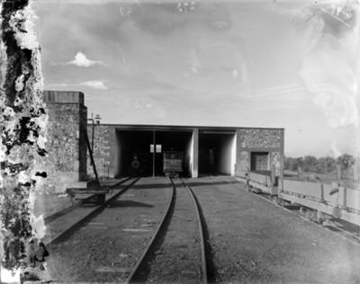 Estación de ferrocarríl, vista parcial