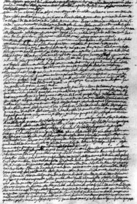 Hoja con escritura en náhuatl