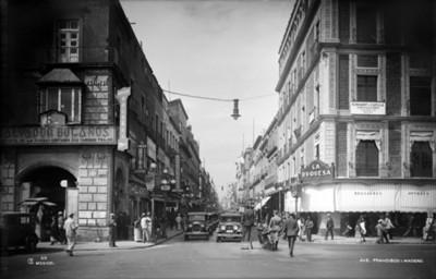 Avenida Francisco I. Madero, vista parcial