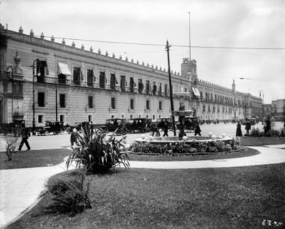Palacio Nacional, fachada