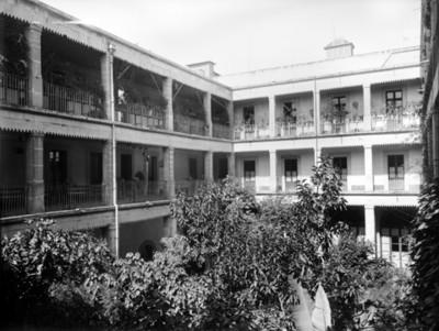 Patio de la Ex-aduana de Santo Domingo