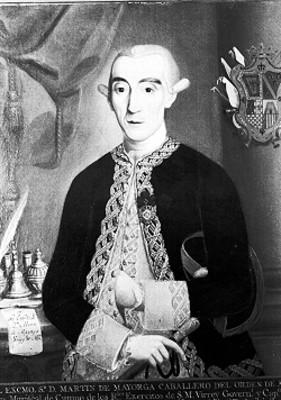 Martín de Mayorga, caballero de orden de Alcantara, pintura de caballete