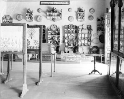 Sala de Artes e Industrias Etnográficas del Museo Nacional