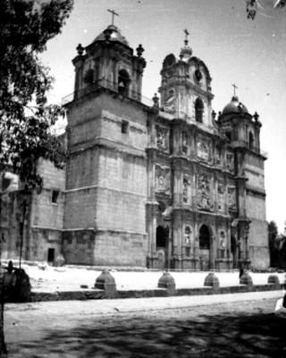Fachada de la Catedral de Oaxaca
