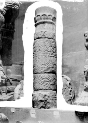 Fuste de columna serpentina