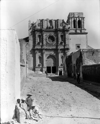 Templo del Convento de San Francisco, fachada
