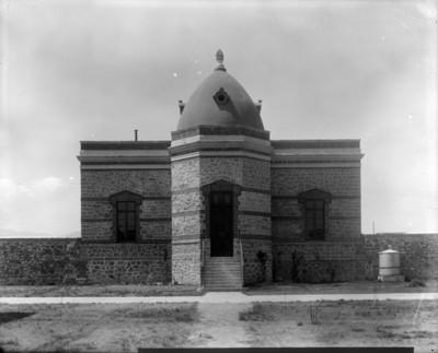 Mortuorio y anfiteatro del Manicomio General de Mixcoac