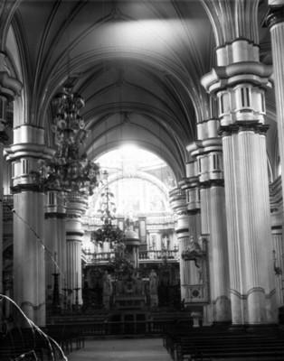 Altar en la Catedral de Guadalajara, vista frontal