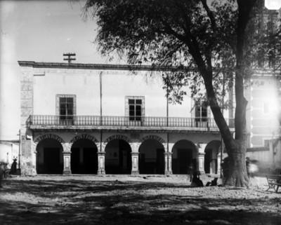 Casa donde vivió Miguel Hidalgo, fachada