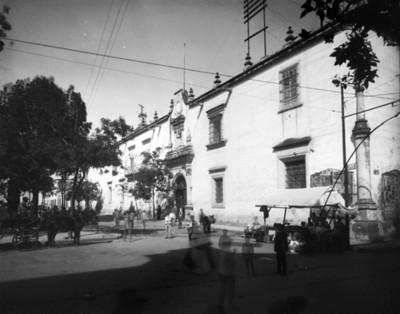 Edificio del antiguo seminario, fachada