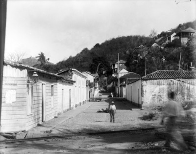 Calle de un poblado
