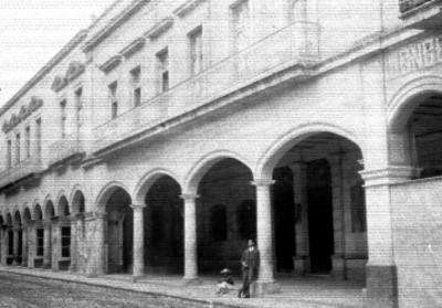 Casa donde se alojó Miguel Hidalgo, fachada