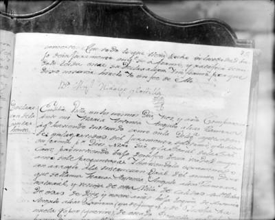 Manuscrito, página de un libro
