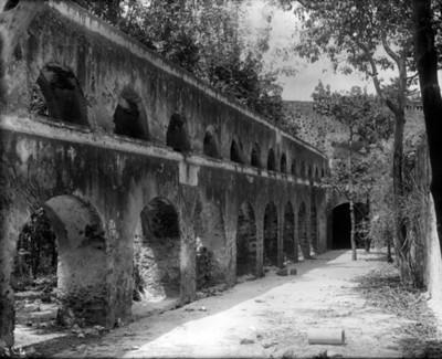 Arcadas del Convento de la orden del Carmen, vista lateral