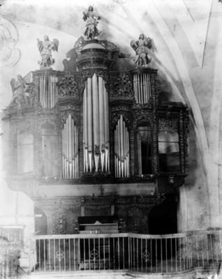 Órgano de la Iglesia de Santo Domingo, vista general