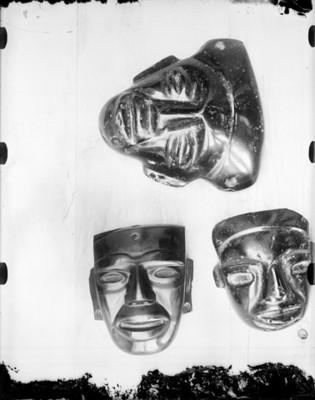 Máscara de obsidiana, exposición