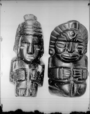 Figuras antropomorfas sedentes, exposición