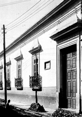 Casa en la que nació Agustín de Iturbide, fachada