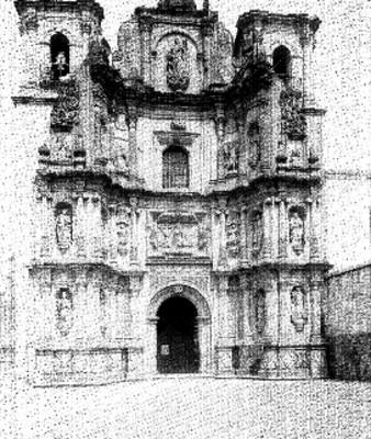 Basílica de la Virgen de la Soledad, fachada