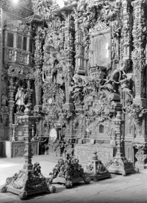 Retablo del Templo de San Francisco Javier