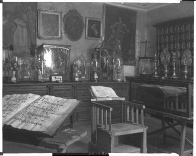 Vista parcial del salón Ramón Alcazár, Museo Nacional