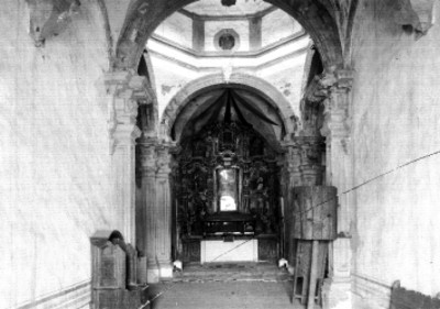 Iglesia de puexta, vista interior