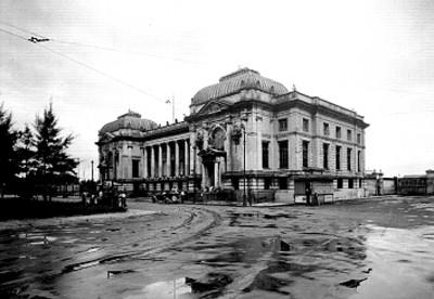 Edificio de correros en Veracruz, vista general