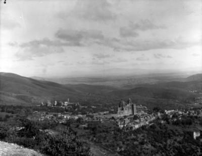Vista panorámica de un poblado
