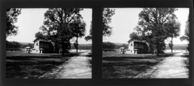 Casa rústica, vista general