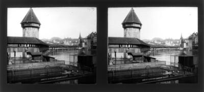 Puente y río, vista parcial