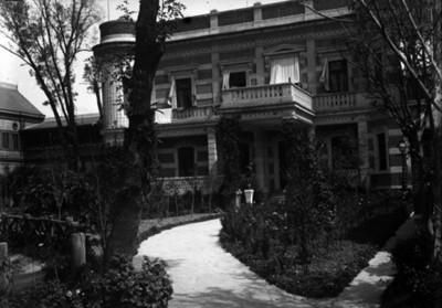 Residencia Azurmendi, fachada norte
