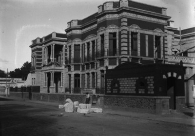 Mansión de Azurmendi, fachada, vista parcial