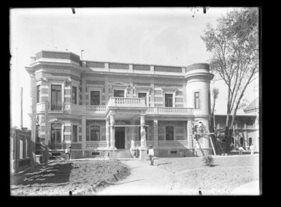 Casa de Juan Antonio Azurmendi en construcción