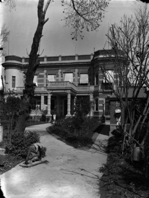 Casa de Juan Antonio Azurmendi, fachada principal
