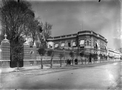 Casa de Juan Antonio Azurmendi, vista exterior