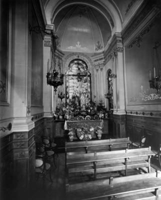 Abside del oratorio, vista frontal